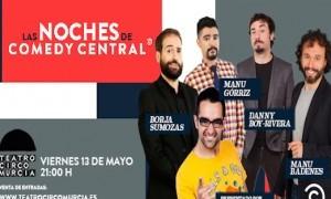 Las noches de Comedy Central en Teatro Circo de Murcia