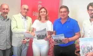 """La ciudad de Murcia se une al reto """"12 Millones de pedaladas por las personas refugiadas"""""""