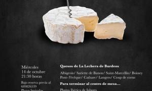 Cata Maridaje de La Lechera de Burdeos en Tiquismiquis