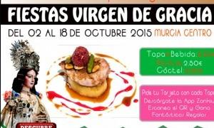 Ruta de la Tapa de Virgen de Gracia Murcia 2015