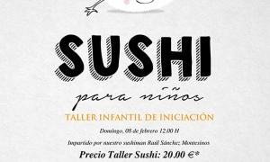 Taller infantil de iniciación al Sushi en Tiquismiquis