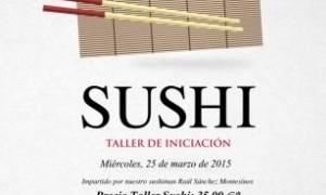 Taller iniciación al sushi en Tiquismiquis