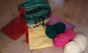 Taller de cestas de colores en La Casa Verde