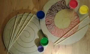 Taller infantil: Espiral de colores