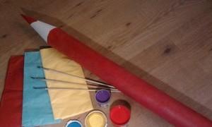 Taller infantil: Haz un lápiz gigante