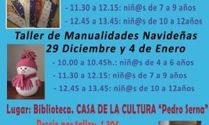 Talleres infantiles navideños en Las Torres de Cotillas
