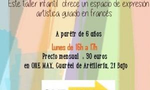 Taller infantil: Lunes creativos en francés