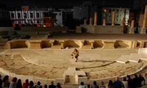 Rutas y visitas temáticas en el Teatro Romano de Cartagena