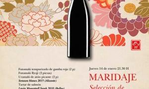 Maridaje en Tiquismiquis con Selección de Vinos Lavia